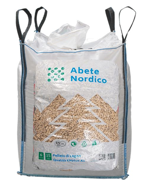 abete nordico big bag